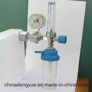 CE ISO Medical Oxygen Regulator with Flowmeter pictures & photos
