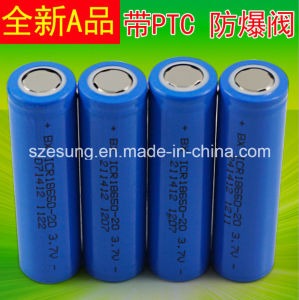 18650 3.7V 2600mAh Li Rechargeable Battery