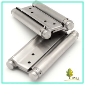 Stainless Steel 201 Spring Hinge/ 6-Inch (1.5mm) Double Action Spring Hinge pictures & photos