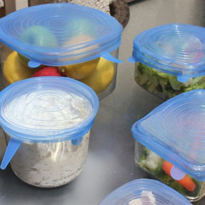 Adjustable Fresh-Keeping Silicone Stretch Lids for Storage pictures & photos