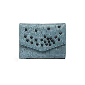 Elegant Studded Card Holder Coin Purse Ladies PU Wallet Wzx1108 pictures & photos