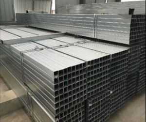 50X50mm Hot DIP Galvanized Square Steel Pipe/Pre-Gal Steel Tube/Welded Pipe pictures & photos