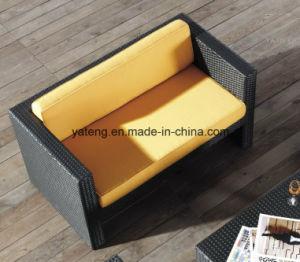 Outdoor Furniture modern Sofa UV-Resistant PE Rattan Rattan Furniture Sofa (YT195) pictures & photos