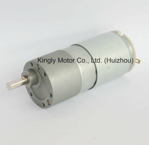 12volt High Torque Micro Brush Low Rpm DC Gear Motor pictures & photos