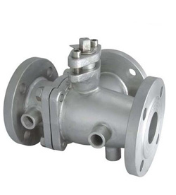 Jacket Flanged Handle Ball Valve pictures & photos