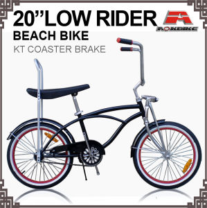 Lowrider Spring Fork Coaster Brake Beach Cruiser Bicycle (ARS-2012S-4) pictures & photos