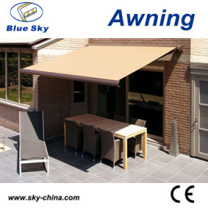 Portable Electric Polyester Retractable Window Awning B4100 pictures & photos