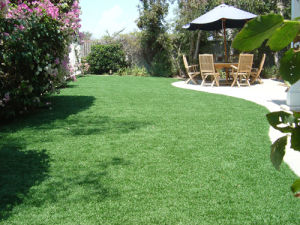 Synthetic Turf Four Colors Landscaping Artificial Grass pictures & photos