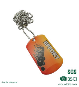 Personalized Necklace Aluminum Dog Tag for Promotion pictures & photos
