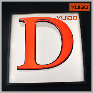 Face Lighting Waterproof Channel Letter with Different Color pictures & photos