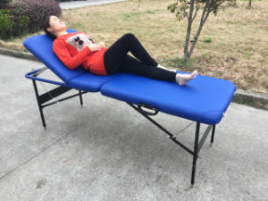 Portable Iron Massage Table With Cable System (CMT-002) pictures & photos