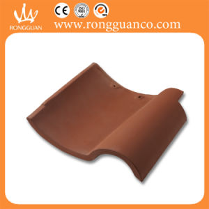 Dark Coffee Color Rustic Roof Tile S Shape Roof Tile (W85-3) pictures & photos