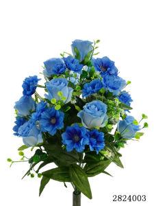 Artificial/Plastic/Silk Flower Rosebud, Corn Flower Bush (2824003) pictures & photos