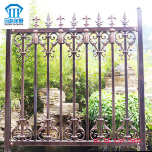 Rust-Proof/Antiseptic/High Quality Security Steel Fence with Spear for Garden pictures & photos