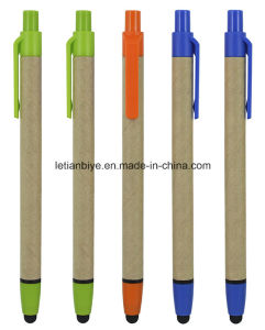 Recycled Paper Stylus Ball Pen (LT-C814) pictures & photos