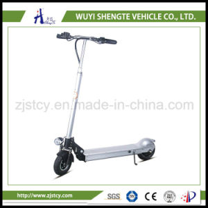 Guangzhou Fair Small 350W Rear Hub Brushless Scooter Electric pictures & photos