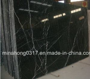 Marble Slabs Nero Marquina Black Marble Tiles/Polished Marble pictures & photos