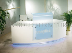 Hot Sale New Design Used Tanning Salon Reception Desk (SZ-RT053) pictures & photos