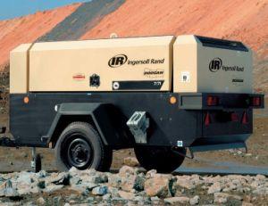 Doosan Portable Air Compressor, Diesel Drive Compressor (7/71 12/56 14/85 10/105 9/110 7/120) Ingersoll Rand pictures & photos