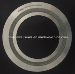 Spiral Wound Gaskets Mica Fiier 316L Cgi (SUNWELL) pictures & photos