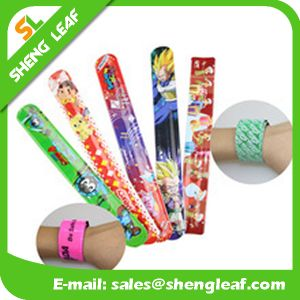 Children′s Toy Custom Slap Printing PVC Hand Band pictures & photos