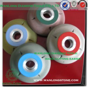 Profile Mini Custom Wheel-Diamond Profile Wheel 3/8 Inch Radius for Stone Grinding pictures & photos