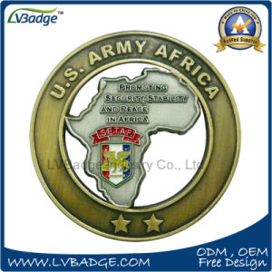 Promotion Customer Us Army Metal Coin for Custom Design pictures & photos