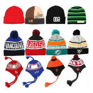 100%Acrylic Knitted Hat, Knitted Beanie pictures & photos