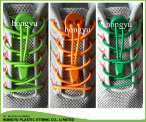 Promotional Lock Laces No Tie Elastic Shoelace pictures & photos