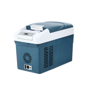 Portable Car DC Compressor Refrigerator 15liter DC12/24V with AC Adaptor (100-240V) pictures & photos