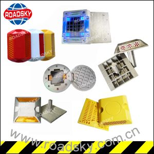 Motorway Reflective Double Side Reflector Road Stud Cat Eye pictures & photos