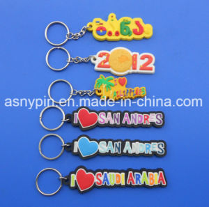 Souvenir Tourist Rubberised 3D PVC Trinket Keycharm pictures & photos