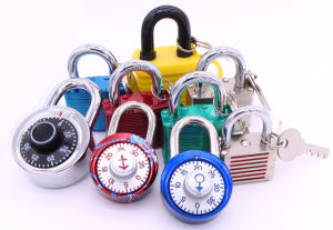 Keyless Round Shape Combination Padlock (1500S) pictures & photos