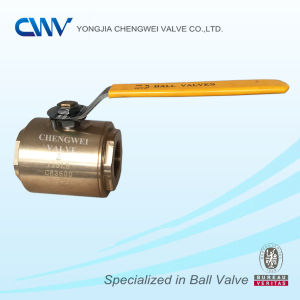 Forged Steel Floating Bronze Ball Valve with Fnpt Ends