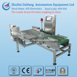 Check Weigher 100% in-Line Control for Beverage Production Line pictures & photos