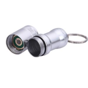 Mini Zoom Lens Keychain Rechargeable T6 Torch 16340 LED Flashlight pictures & photos