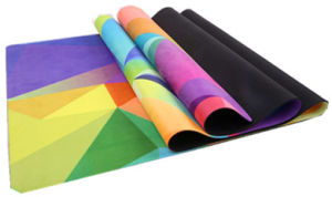 Full Length Natural Rubber Yoga Mat, Customize Available pictures & photos