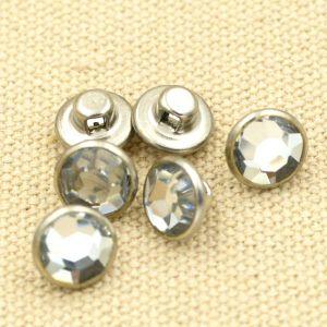 Transparent Acrylic Cap Metal Brass Shank Button pictures & photos
