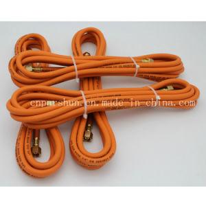 """ISO 9001 Manufacturer 3/8"""" Inch 10mm Orange Rubber Propane Hose pictures & photos"""