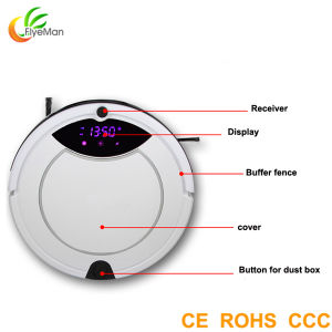 2015 High Class Multifunctional Robot Vacuum Cleaner Robot pictures & photos