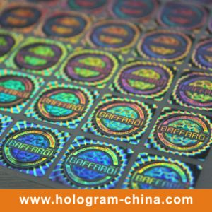 Custom Anti-Fake 2D 3D Pet Hologram Label pictures & photos