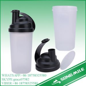 500ml PP Protein Plastic Shaker Bottle pictures & photos