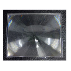 Optical Plastic Fresnel Lens Solar Focal Length 890mm for Projector pictures & photos