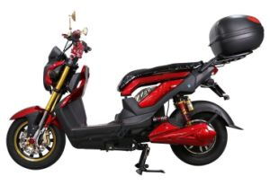 Automatic Cheap Comfortable Seat Electric Motorcycle and Scooter pictures & photos