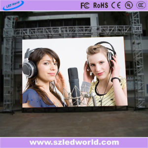 Outdoor/Indoor Energy Saving Die-Casting Full Color Rental LED Display Screen Panel Board for Advertising (P3.91, P4.81, P5.95, P6.25, P5.68 500X1000) pictures & photos
