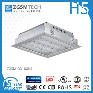High Lumen Output IP66 Waterproof 80 Watt LED Canopy Light pictures & photos