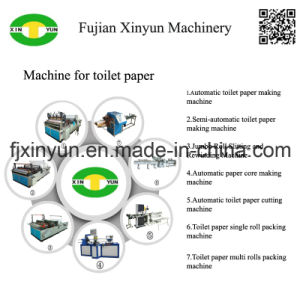 Automatic Maxi Roll Sltting and Toilet Paper Rewinding Machine pictures & photos