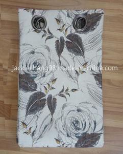 Printed Faux Linen Grommet Panel (HR14WT174) pictures & photos