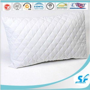 White Plain Diamond Style Quilted 100% Cotton Pillow Insert pictures & photos