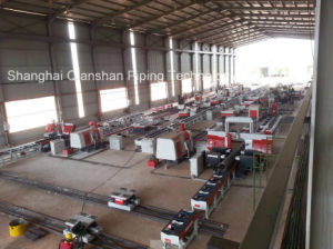 Fixed Workshop Type Pipe Fabrication Line pictures & photos